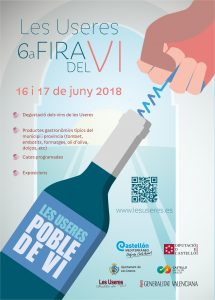 Fira del Vi de les Useres del 16 al 17 de juny