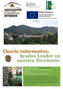 Información de las ayudas Leader dentro del territorio del Grupo de Acción Local DICI
